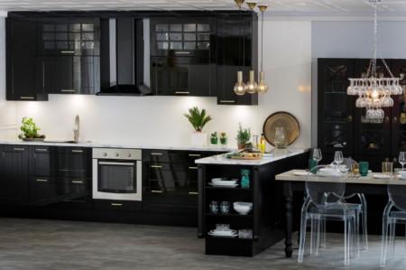 Sopraano keittiö M-168 akryylilakattu